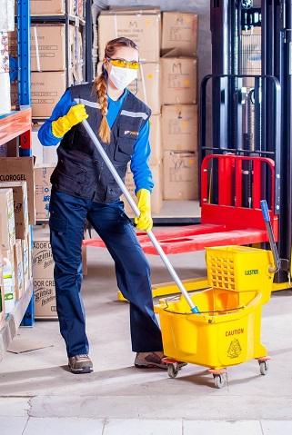 organizzazione staff impresa di pulizie